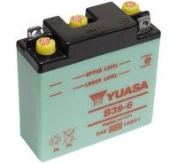 Yuasa B39-6 Motorcycle Batteries