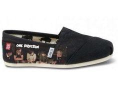 One Direction TOMS!! I want these sooooooo bad! !!!