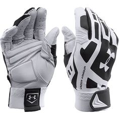 Under Armour Cage Adult Baseball Batting Gloves