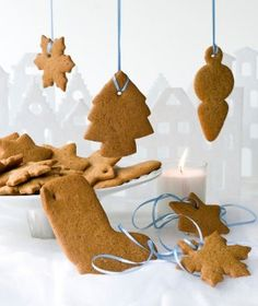 Pepparkakor Cookie Desserts, Fun Desserts, Cookie Recipes, Christmas Dishes, Christmas Art, The Kitchen Food Network, Greek Sweets, Biscuit Cookies, Sweet And Salty