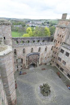 Linlithgow Palace, Scotland, birthplace of Mary Queen of Scots