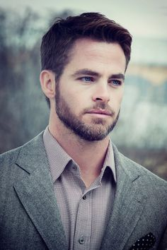 Chris Pine. He's not bad to look at ;)