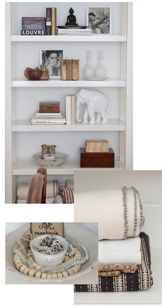 Sacramento Street | Living With Great Style | Tips for decorating shelves
