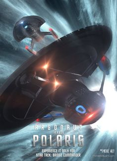 Nearing release, my beta testers commented saying my Polaris Class had similarities to the USS Vengeance. To better prove this, I thought it would be fun to recreate the IMAX poster for ST: Into Da...