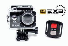 Cámara Deportiva Biwond EX3 4K Ultra HD+WIFI+HDMI+Control Remoto Diseñada para…