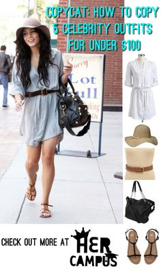 Copycat: How to Copy 5 Celebrity Outfits for Under $100