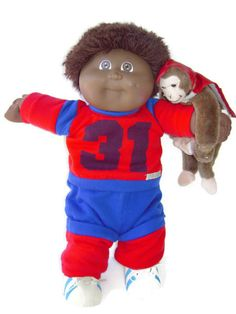 Vintage Cabbage Patch Doll  Xavier Roberts Black by BeckVintage, $25.00
