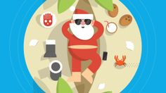 Google Santa Tracker - Where's Santa? . #animation
