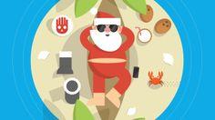 Google Santa Tracker - Where's Santa? . #animation