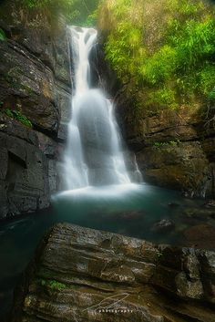 La Mina by Ted Gore on 500px This is La Mina Falls, in El Yunque National Park, Puerto Rico.