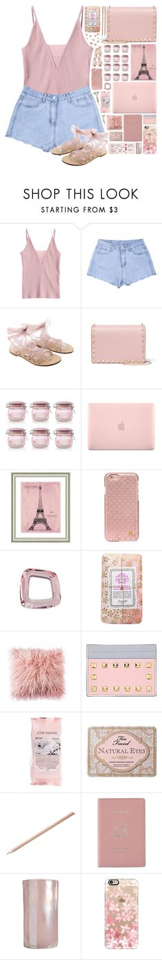 """Pretty In Pink"" by ritaof ❤ liked on Polyvore featuring Valentino, Kilner, Incase, Vintage Print Gallery, Tory Burch, Fresh, Josie Maran, Too Faced Cosmetics, Royce Leather and Pols Potten"