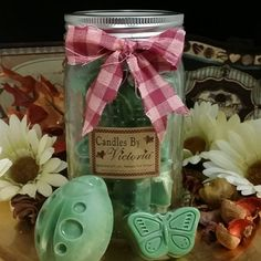 Who doesn't want a Jar Full Of Happiness!?! Hightly scented wax tarts, over 900 fragrances to choose from!