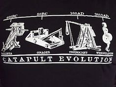 $25 T-Shirt - Evolution of the Catapult