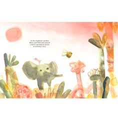 Book projects - Betty and the Bees - Juliet Docherty Illustration