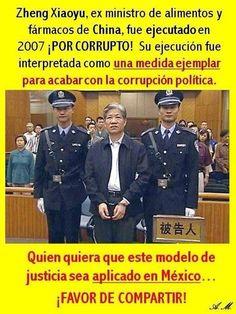 ¿Se necesitará llegar a estos extremos para que los políticos entiendan que no deben ser corruptos?