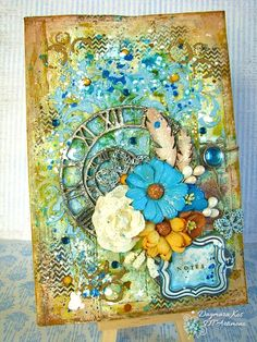 mixedmedia notebook