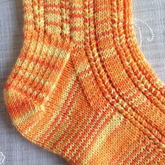 Knitting Patterns Socks Ravelry: Solar socks pattern by Gill Slater Knitting Designs, Knitting Patterns Free, Knit Patterns, Free Knitting, Free Pattern, Crochet Socks, Knitting Socks, Knit Or Crochet, Knit Socks