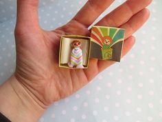 OOAK miniaturen Puppe Spielzeug für Puppenstube 1:12 DeKo für Kinderzimmer Puppenladen auch für REALPUKI mini bjd doll von YuliyasOOAKdolls auf Etsy
