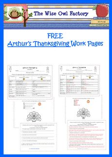 Work pages for Arthur's Thanksgiving - Pinned by @PediaStaff – Please visit http://ht.ly/63sNt for all (hundreds of) our pediatric therapy pins
