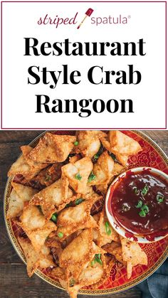 See how easy it is to make one of the most popular Chinese-American appetizers at home with this Crab Rangoon recipe! Crispy wonton skins and a creamy crab filling make for an irresistible bite. Deep fried, airfryer, and oven instructions included. Best Seafood Recipes, Crab Recipes, Asian Recipes, Appetizer Recipes, Healthy Recipes, Famous Restaurant Recipes, Restaurant Copycat Recipes, Wok Recipes, Recipies