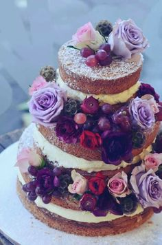 Now thats my kind of wedding cake!