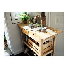 IKEA   FÖRHÖJA, Kitchen Cart, Gives You Extra Storage In Your Kitchen.You  Can Quickly View And Access Whatu0027s Inside Because The Drawers Can Be Pulled  Out