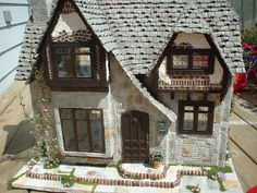 My Greenleaf Dollhouses: Greenleaf Glencroft Dollhouse Kit. Would make a great wizard's cottage in Hogsmeade.