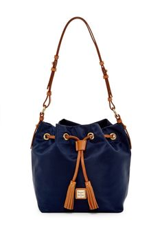 Bucket bag love!  Dooney & Bourke Small Kade Nylon Drawstring Bag