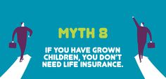 9 Myths about Life Insurance - Myth 8 Life Insurance Types, Term Life Insurance, Best Insurance, Insurance Quotes, Home Insurance, Financial Peace, Financial Literacy, Friendly Society, Fast Quotes
