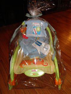 Homemade baby shower gift!
