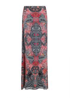 #falda #larga #estampada #coral @MANGO 59,99€