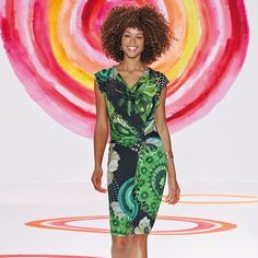 DESIGUAL;S NEW YORK FASHION SHOW | dress featured on the catwalk in our first New York Fashion Week show ...