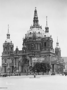 The Supreme Parish and Cathedral Church, aka Berlin Cathedral in Berlin, Germany, circa 1925.