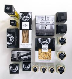 Lovely concept design line packaging truffles Creative Director: Claudio Venturini Graphic Designer: Laura Jacucci Ostini Agency: Yumm #packaging PD