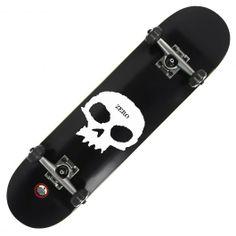 ZERO Skateboard complet Single Skull black 7.5 pouces 135,00 € #skate #skateboard #skateboarding #streetshop #skateshop @April Gerald Skateshop