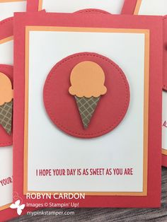 My Pink Stamper - Stampin' Up! Cool Treats Simple AWESOME Video Tutorial! - Episode 545