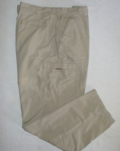 Mens ll Bean Hiking Lightweight Pants Velcro Cargo Pockets Active Slacks 42 x 34 | eBay  I got some new underwear yesterday. Well, it was new to me.