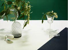 transparency / reflection /art de la table