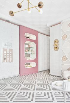 Espacio Hager diseñado por Miriam Alía en Casa Decor 2018 Mosaic Floors, Architecture Design, Rooms, Inspirational, Flooring, Interior Design, Coffee, Gallery, Beautiful