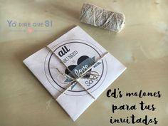 CD regalo para tus invitados. La banda sonora de tu boda. Plantilla descargable.