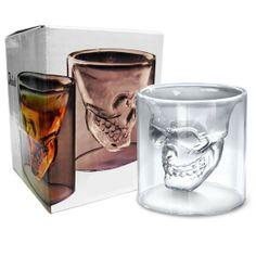 Doomed Skull Shot Glass