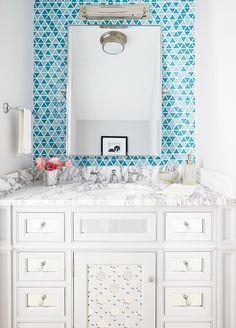 Splendid Country House in the USA, design, décor, interior, country house, usa, bright, bathroom