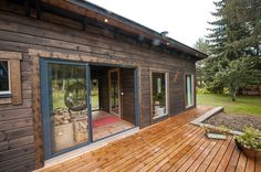 _NKN1800 Modern Saunas, Man Shed, Glass Extension, Ibiza, Exterior Design, Cabins, Home Goods, Cottage, Patio