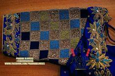 Pattu Saree Blouse Designs, Blouse Designs Silk, Bridal Blouse Designs, Blouse Patterns, Latest Maggam Work Blouses, Maggam Work Designs, Embroidery Neck Designs, Simple Blouse Designs, Kutch Work
