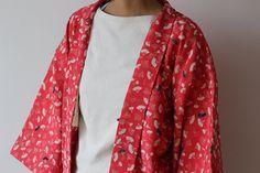 Haori Japanese kimono Kimono jacket short kimono by LitreJapan