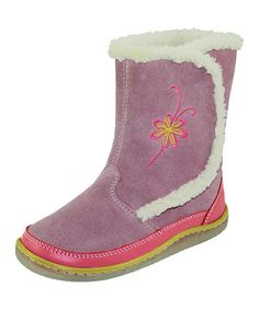 Another great find on #zulily! Violet Viviane Boot by KidOFit #zulilyfinds