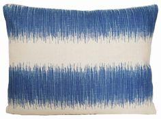 Blue Stripe Cushion Cover Beige Pillow Case Moschino Nicholas Haslam Hampton's for sale online Beige Pillow Cases, Moschino, Striped Cushions, Printed Linen, Linen Fabric, Blue Stripes, The Hamptons, Cover, Throw Pillows