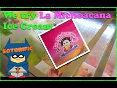 Emily, Zoe, Samantha and Julian wait in a long line for some ice cream at La Michoacana ice cream. The line is so long that Julian goes next door to the Game Stop to check out some Skylanders. Is this ice cream worth the long wait in line? https/sotorific://www.facebook.com