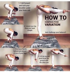Yoga - Compass Pose Variation