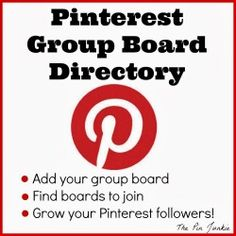 Pin Junkie Group Board Directory